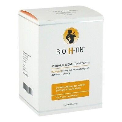 MINOXIDIL BIO-H-TIN Pharma 20 mg/ml Spray Lsg. 180ml 10391786