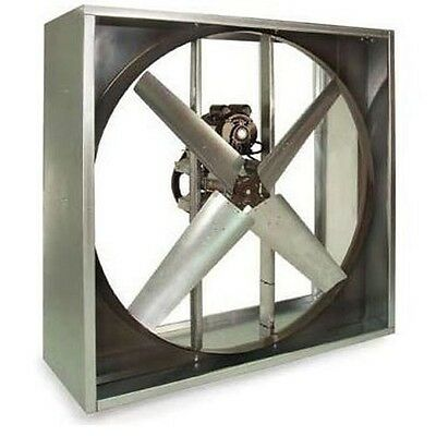 Exhaust Fan Industrial - Belt Driven - 30 - 115 Volts - 9000 Cfm - 742 Rpm