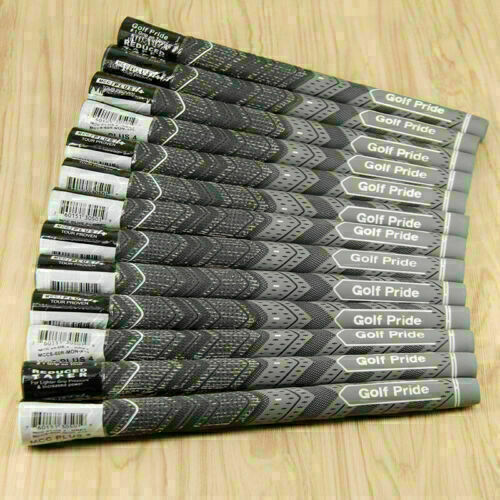 13X NEW Golf Pride MCC Plus 4 Golf Grips Standard Gray USA