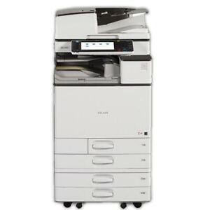 ONLY 62K PAGES PRINTED!!!! HIGHLY EFEFCTIVE RICOH LASER MULTIFUCNTIONAL PRINTER SCANNER COPIER MP C4503 FOR JUST $4950