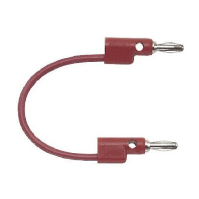 Pomona Stack-up Banana Plug Patch Cord Red
