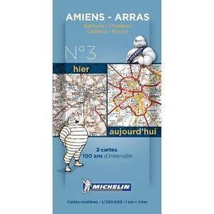 Amiens - Arras Centernary Maps - Pack 003 (Michelin Historical Maps),Michelin,Ne