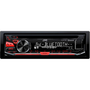 JVC Bluetooth CD Deck with USB and Bluetooth