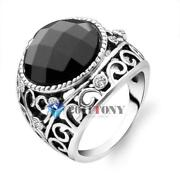 Mens Onyx Ring Size 9