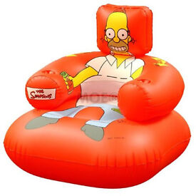 Inflatable Simpsons Chair