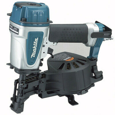 Makita 15 Degree 34 In. - 1-34 In. Coil Roofing Nailer An453-r Recon