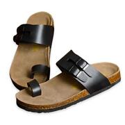Mens Toe Loop Sandals