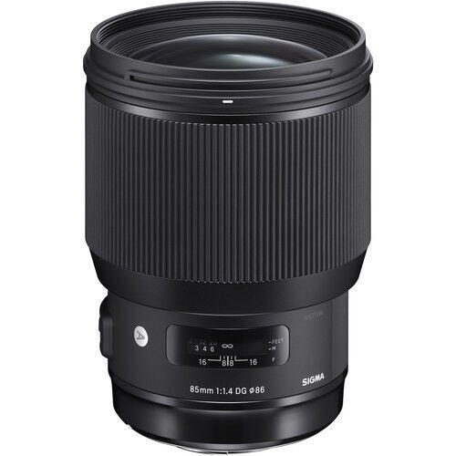 Sigma 85mm f/1.4 DG HSM Art Lens for Canon mount