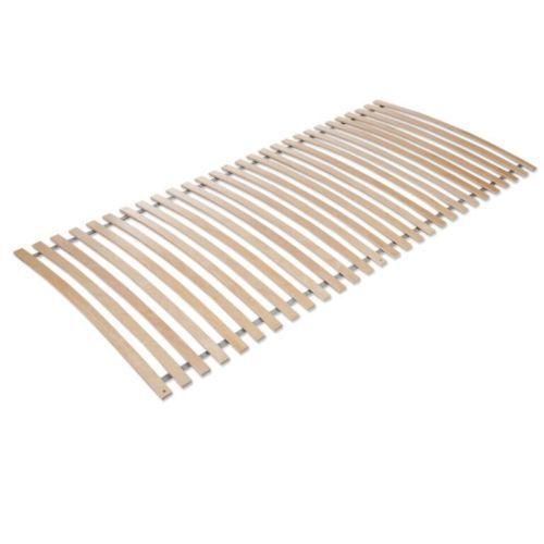 Lattenrost, Rollrost, rahmenlos 120x200cm, 28 Latten,Birke TOP Qualität