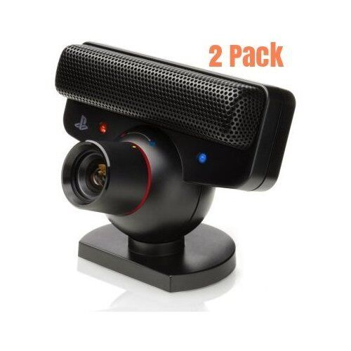 Sony PlayStation PS3 Eye Camera 2 Pack Very Good PlayStation 3 6Z