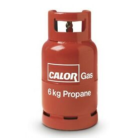 Wanted 6kg propane gas bottle