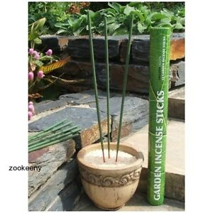 Outdoor garden insect incense repellent sticks mosquito - Natural insect repellent for gardens ...