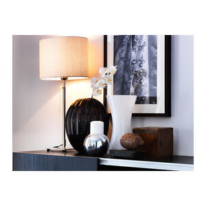 ALÄNG Table & Floor Lamp *like new condition*