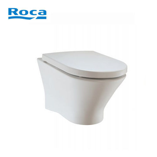 Nexo Roca - WC wandhängend + WC Sitz mit Absenkautomatik (ohne Spülrand)