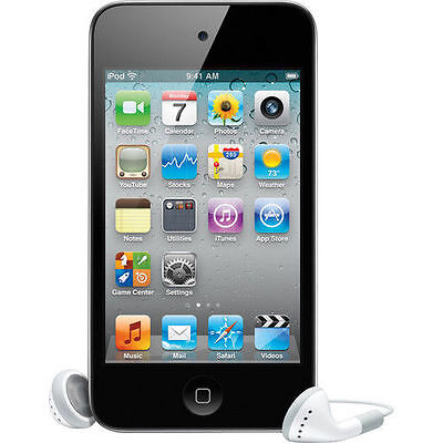 iPod Touch 4th Age group 8 GB Black MP3 PLAYER 90 Days Warranty-New Sealed