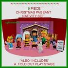 Charlie Brown Nativity Set