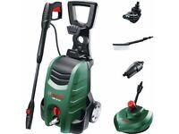 Bosch AQT 37-13 PLUS + Pressure Washer with Patio Cleaner 130 Bar 1700w