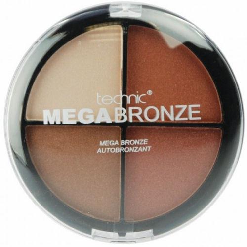 Technic Mega Bronze Palette - Bronzer Makeup Quad Cosmetic Shimmer