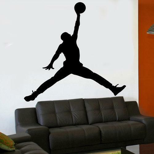 Michael Jordan Wall Stickers Ebay