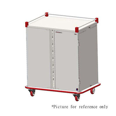 Patient Tray Cart - Carter-Hoffmann PTDST10 Performance Patient Tray Cart with Double Compartments