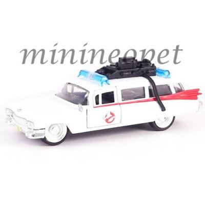 (JADA 99748 GHOSTBUSTERS ECTO 1 1959 CADILLAC AMBULANCE 1/32 DIECAST WHITE)