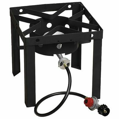 Gas Stove Propane Burner Portable Steel Fryer Stand Outdoor Camping Cooker NEW
