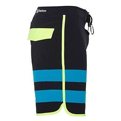 Mens Phantom 60 Block - NEW HURLEY BLACK PHANTOM BLOCK PARTY MEN'S BOARDSHORTS 28 34 36 38 X 19 MSRP $60