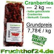 Cranberry Getrocknet