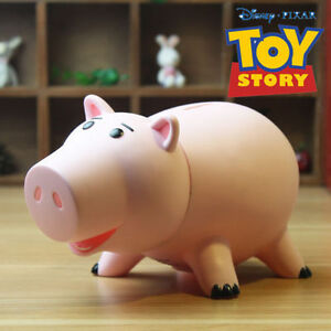 Toy Story 3 Hamm Figure Coin Bank Money Piggy Toy Pink Pig Brand New Doll USA#