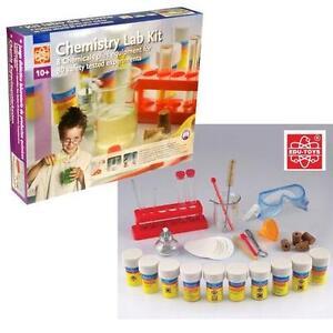 Edu Science Childrens/Kids Chemistry Lab Kit 80 Experiments Set Safety Tested