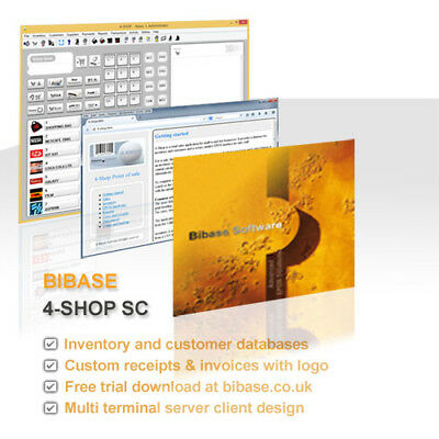 Multi lane terminal Point of Sale Shop POS EPOS Till Software for Windows