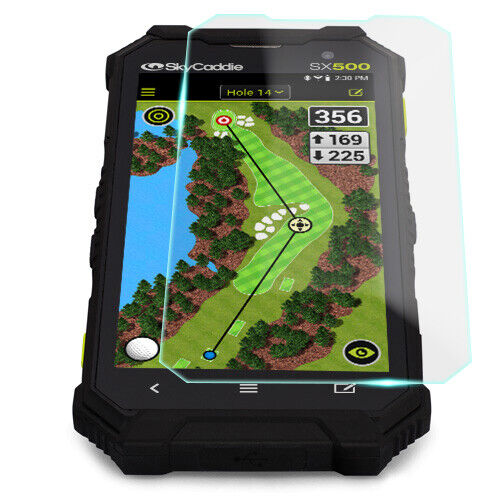Crystal Clear Screen Protector for SkyCaddie SX500 GPS