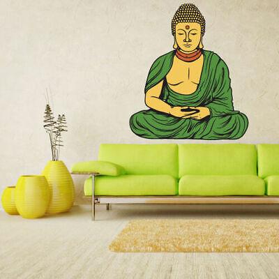Full Color Wall Decal Sticker Indian Buddha Budda God Ganesh India (Col197) for sale  Virginia Beach