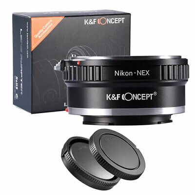K&F Concept Lente Montaje Adaptador Para Nikon Ai sony Nex E de...