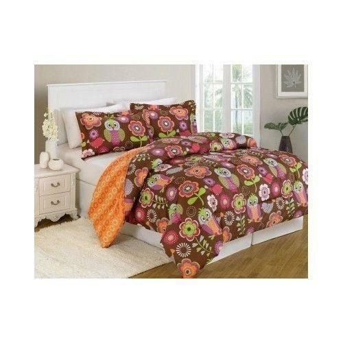 Owl Bedding Queen Ebay