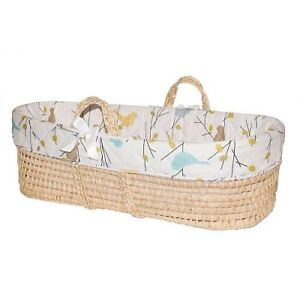 Jolly Jumper® Baby Birdies Quilted Moses Bassinet