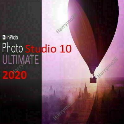 inPixio Photo Studio 10.1 Pro 2020 ✅ 3 sec delivery ✅ Life license ✅