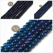 10mm Faceted Agate Beads
