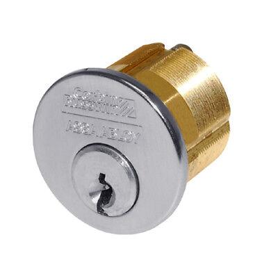 Corbin Russwin 1000-118 Mortise Cylinder 1-18 6-pin