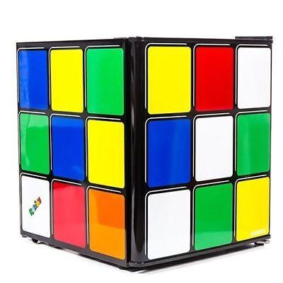 Husky HU231 | Rubiks Cube Mini Fridge - Table Top Drinks Chiller