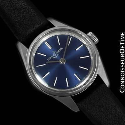 1960's ULYSSE NARDIN Vintage Ladies Waterproof Watch - Stainless Steel
