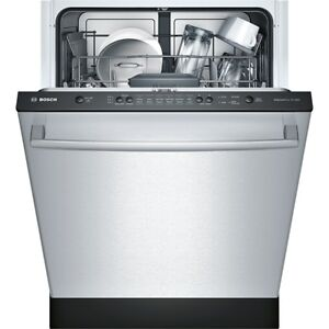 Bosch Stainless Dishwashers SHX3AR75UC in Calgary, only $750.00!