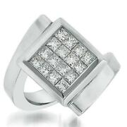 Invisible Set Diamond Ring