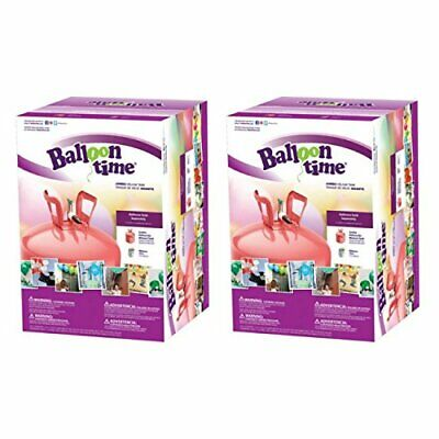 Balloon Time Jumbo 12 Helium Tank Blend Kit (2 Boxes) - Jumbo Helium Tank