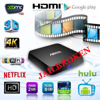 M8S Android Box S812 Quad Core Android Smart TV 2GB+8GB XBMC KOD