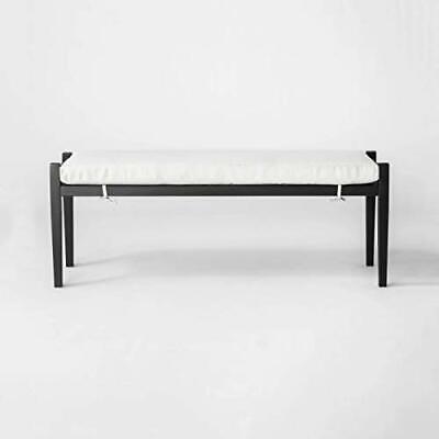 Threshold Fairmont Metal Patio Dining Bench - Linen