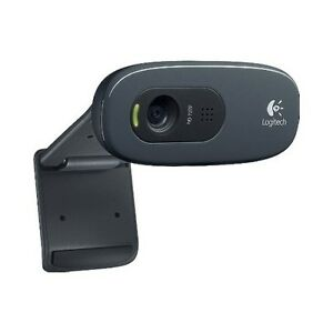 Logitech-Webcam-HD-PRO-720P-3-0MP-C270-960-000694-With-Microphone