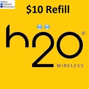 H2O PayGo $10 Refill -- Applied To Phone Directly
