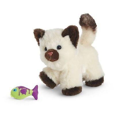 NIB ~ American Girl HIMALAYAN KITTEN ~ Cat with Magnetic Fish Toy ~ Poseable Pet