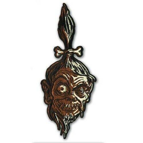 Shrunken Head Patch Iron On Amazon Voodoo Tribal Witch Horror Halloween Decor